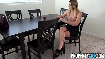 PropertySex - Little conniving real estate agent fucks boss
