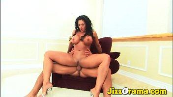 JizzOrama - Huge Titted Babe Aimee Sweet