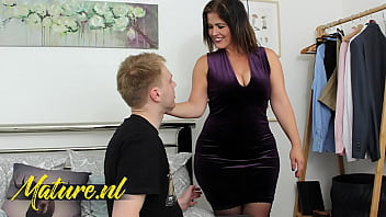 Big Booty Spanish MILF Monste Swinger Fucked By Her Son's Bestfriend