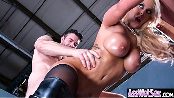 Hard Style Anal Sex On Tape Wit Oiled Big Ass Girl (Bridgette B) video-10