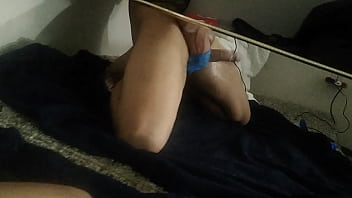 Solo jerking off