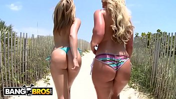 BANGBROS - Whose Ass Would You Rather Have On Your Face? Alexis or Phoenix?