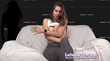 Dancing & teasing in ribbed pantyhose tights upskirt & feet - Lelu Love