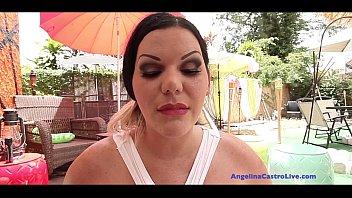 Image: Angelina Castro Face Full of Cum!