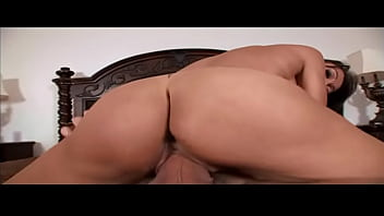 Beautiful brunette loves a huge hard cock in her mouth as much as in her pussy
