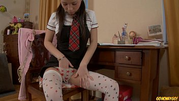 Where do i go to masturbate on webcam for others - Schoolgirl doing homework stops to masturbate