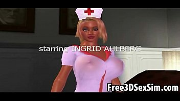 Unemaro hentai 3d nurses Sexy 3d cartoon nurse sucking cock and getting fucked