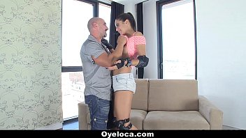 OyeLoca - Spanish Teen (Carolina Abril) Gets Drilled