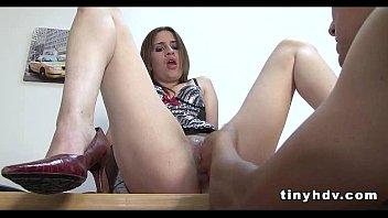 Wet Latina teen pussy Esmeralda Duarte 1 54 5 min