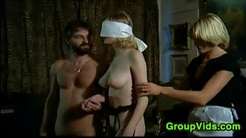 Free movies of blindfolded bitches gangbanged - Blindfolded blonde pleasured in an orgy