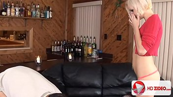 Small Tit Blonde Honey Catches Cum With Her Face porn thumbnail