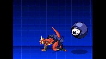 Monster gay anime Delga vs kuromaru - 1