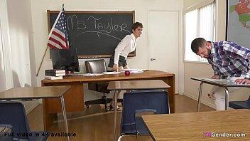 Trans Teacher Daisy Taylor Fucks Johnny thumbnail
