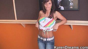 Karen dreams sex tape Karen dance music