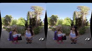 WankzVR - Higher Learning ft. Adria Rae & Kali Roses thumbnail