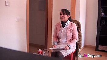 Chubby teen latinarary gs pounded 'cause she really really needs this job