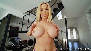 Jules Jordan - Savannah Bond Gets A Jizz Deposit In Her ASS Preview