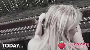 PUBLIC Pickups Germany! BLONDES picked up & FUCKED! Dates66.com