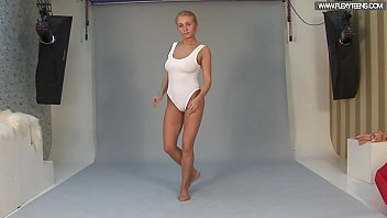 Naked exercises Russian standing spreads by vetrodueva