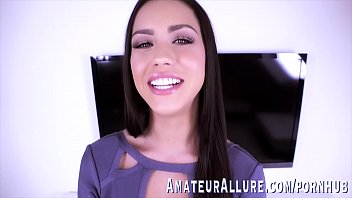 Alina Lopez puts her long tongue to work