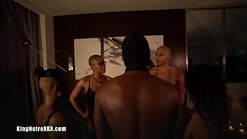 "Bdsm Ebony Group Sex ""poly Sutra"" King Noire Jet Setting Jasmine Sarah Lace Avery Jane & Sub Boy"