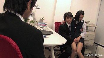 Japanese Intern Gets Fucked