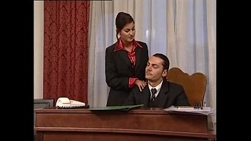 Dallas vintage clothing - Hot secretary in mini skirt banged by her head office