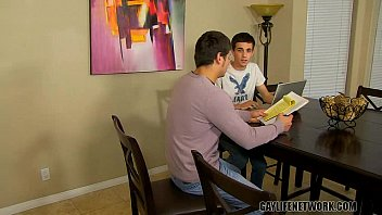 Gay teen parental coping Studying hard