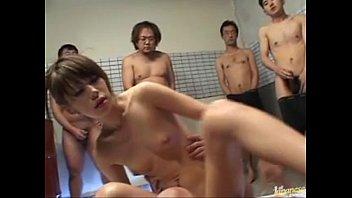 Yu Kawano Gets Creampied In A Gangbang