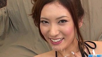 Kasuga sexy Yui kasuga fucked with toys and jizzed on face