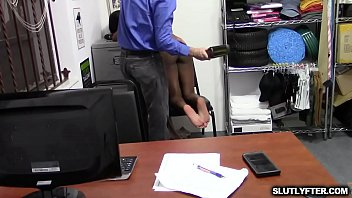 Tori Montana gets her pussy stretched wide open by the LP Officer and fucks her so hard