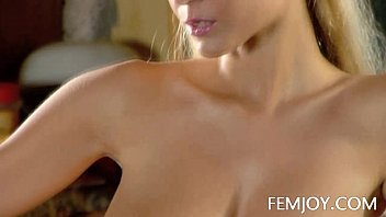 Slim D Cup Sabina Making Coffee Nude preview image