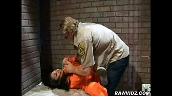 Nasty Brunette Prisoners Give Head
