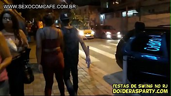 brazilian Father takes his sexy wife and his son takes his teen young girlfriend for real family swing 11 min