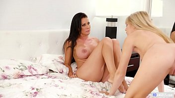 MOMMY'S GIRL - Lesbian Daughter found her Stepmom's diary - Scarlett Sage and Reagan Foxx thumbnail