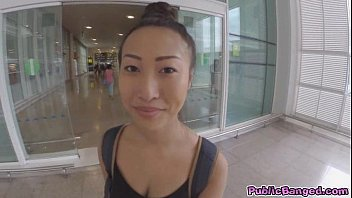 Big Titted Asian Sharon Lee Fucked In Public Airport Parking Lot
