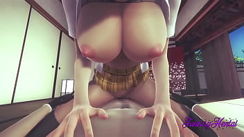 Bleach Hentai 3D - Orihime Fuck And Creampie In Her Pussy - Japanese Manga Anime