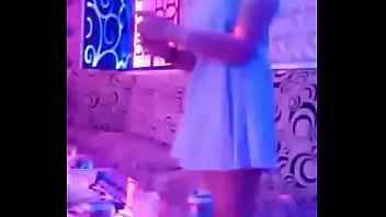 Khmer Girl Dancing in Karaoke