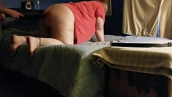 Spank girls bottom Curvy girl gets a spanking from daddy