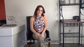 Sarah B. Female Desperation & Wetting Her Jeans