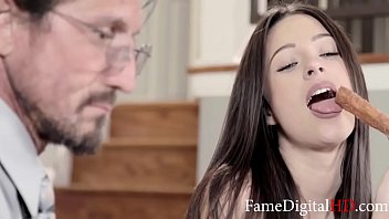 The Man Of The House Gets The Fresh Pussy- Lacy Channing, TommyGun