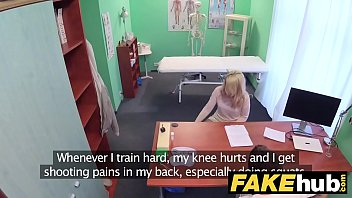 Fake Hospital Dirty doctor gives blonde Czech babe wet panties thumbnail
