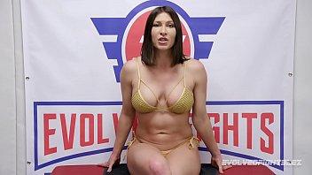 Ariel X takes full control in lesbian wrestling fight vs rookie Riley Daniels