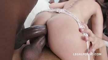 Blackbusters 5on1 with Lady Dee Balls Deep Anal / DAP / Gapes / Swallow GIO948
