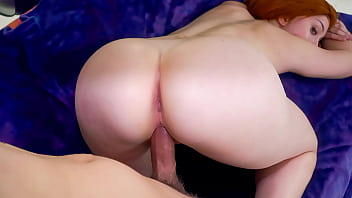 Redhead milf with a huge ass gets fucked hard