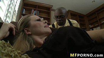 Huge black big dick fucks sexy blonde Dyanna Lauren 1