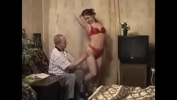 Young russian with an old man