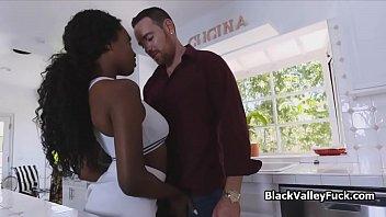 Free black boobie porn Banging black big tit tennis chick