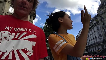 刘玥 Chinese Asian June Liu Creampie - SpicyGum Fucks American 28 min