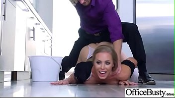 Hardcore Sex In Office With Big Round Tits Slut Girl (Nicole Aniston) clip-24